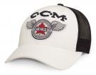 Kšiltovka CCM Heritage Trucker bílá