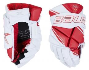 Hokejové rukavice BAUER Vapor X2.9 JR bílo-červené