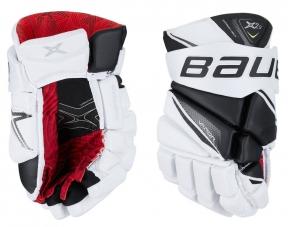 Hokejové rukavice BAUER Vapor X2.9 SR bílo-černé