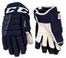 "Hokejové rukavice CCM Tacks 4R JR tmavě modré - vel. 10"""